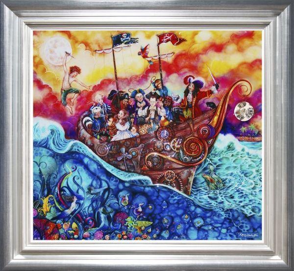 The Pirate Ship - Peter Pan by Kerry Darlington