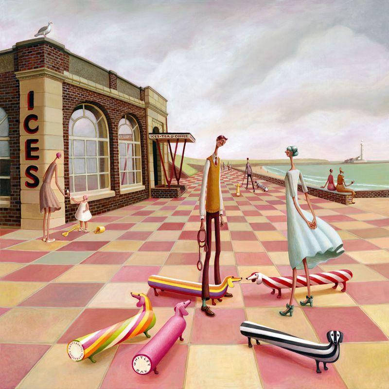 The Rendezvous by Sarah Jane Szikora