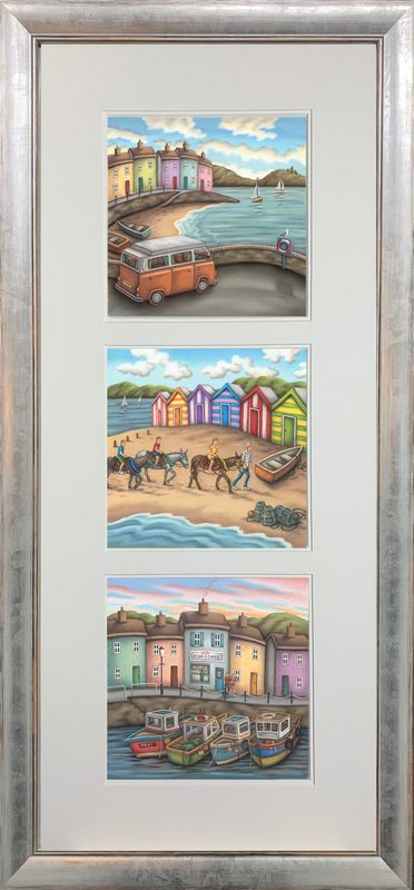 The Seaside Suite - Upright Presentation - Framed by Paul Horton