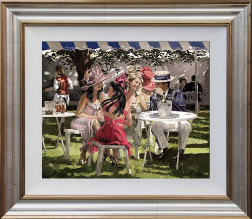 The Social Season - Framed by Sherree Valentine Daines