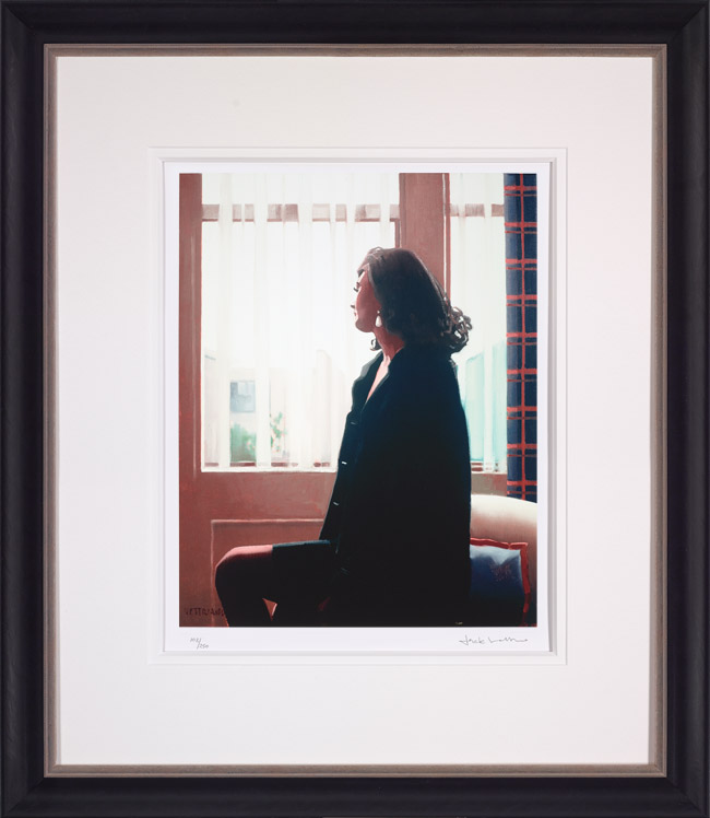 The Very Thought of You - Framed by Jack Vettriano