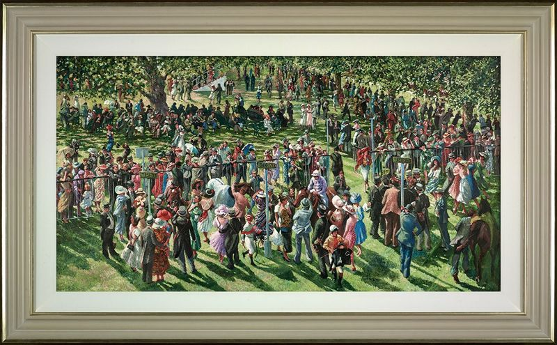 The Winners Enclosure Ascot - Framed by Sherree Valentine Daines