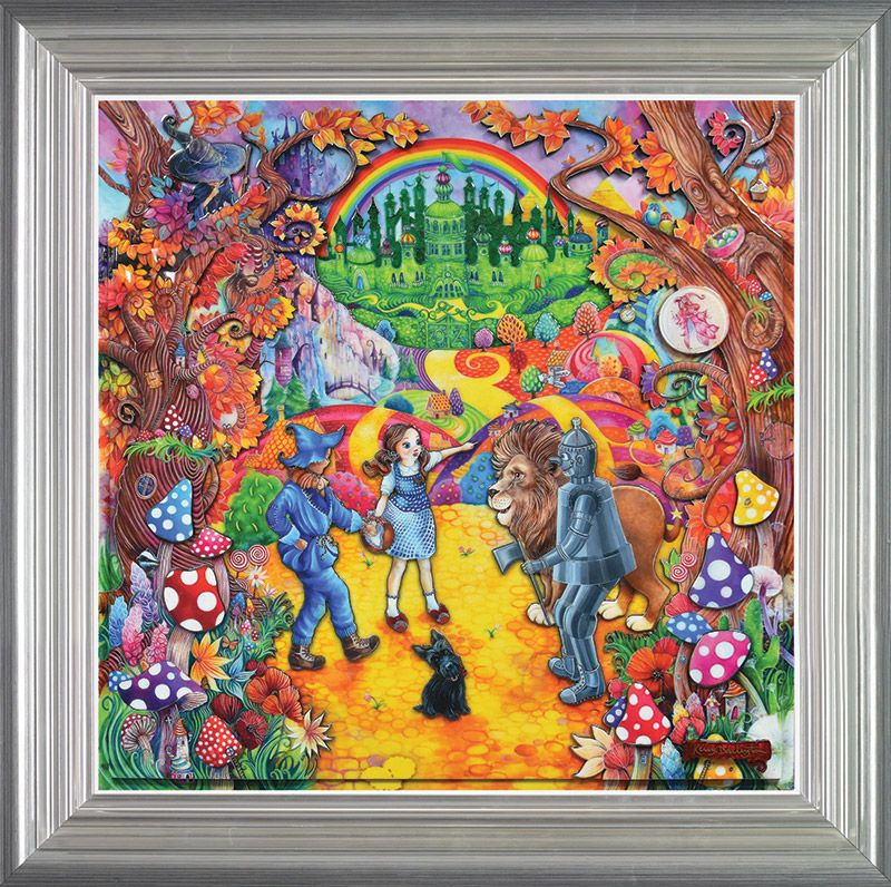 The Wizard Of Oz - Framed by Kerry Darlington