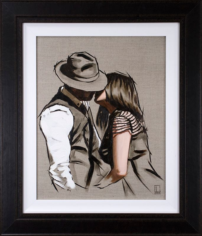 This Is Love II - Original - Framed by Richard Blunt