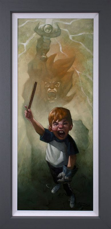 Thunder, Thunder, Thunder Cats Hoooo - Canvas - Framed by Craig Davison