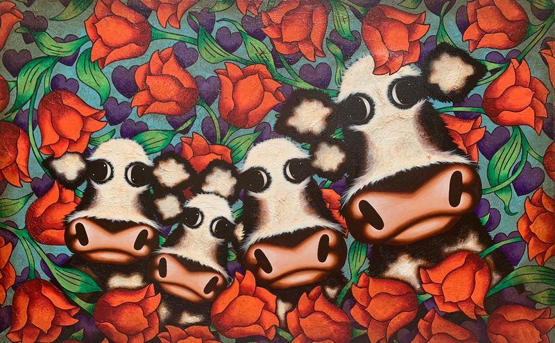 Tiptoe Through Tulips by Caroline Shotton