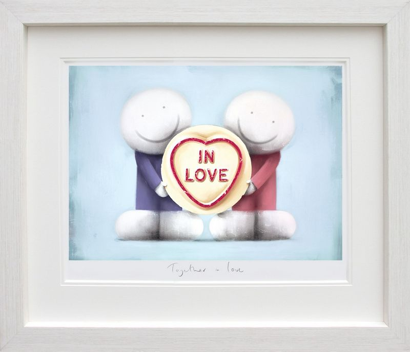 Together In Love - Framed by Doug Hyde
