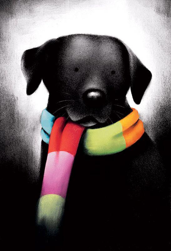 Top Dog - Mounted by Doug Hyde