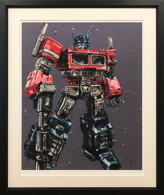 Transform & Roll Out - Framed by Paul Oz