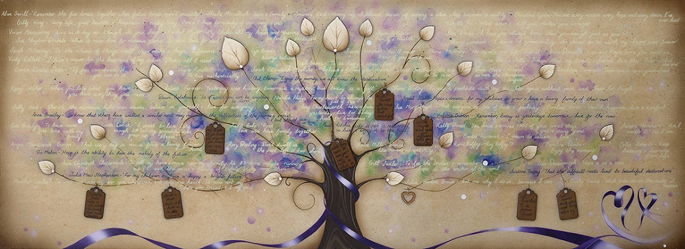 Tree of Hopes and Dreams - Framed Can Be Personalised by Kealey Farmer