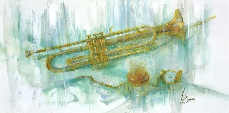 Trumpet In The Days by Remi Labarre