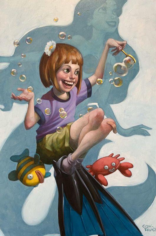Under The Sea - Artist Proof - Mounted by Craig Davison