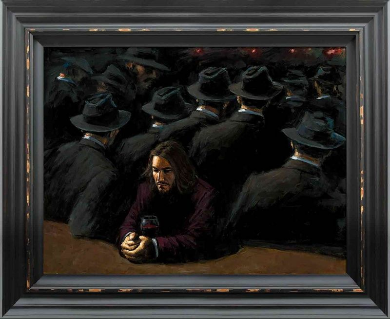 Untitled II Young - Framed by Fabian Perez