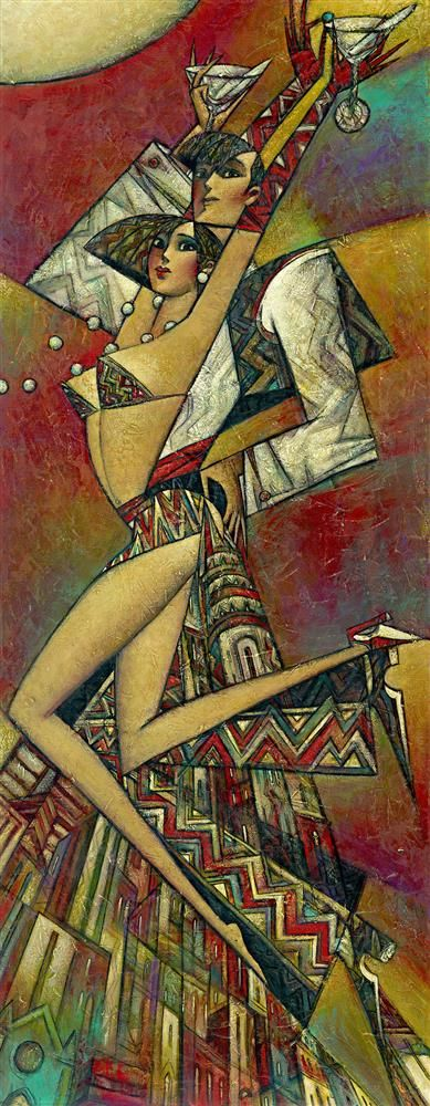 Uptown Martini (Small)  by Andrei Protsouk