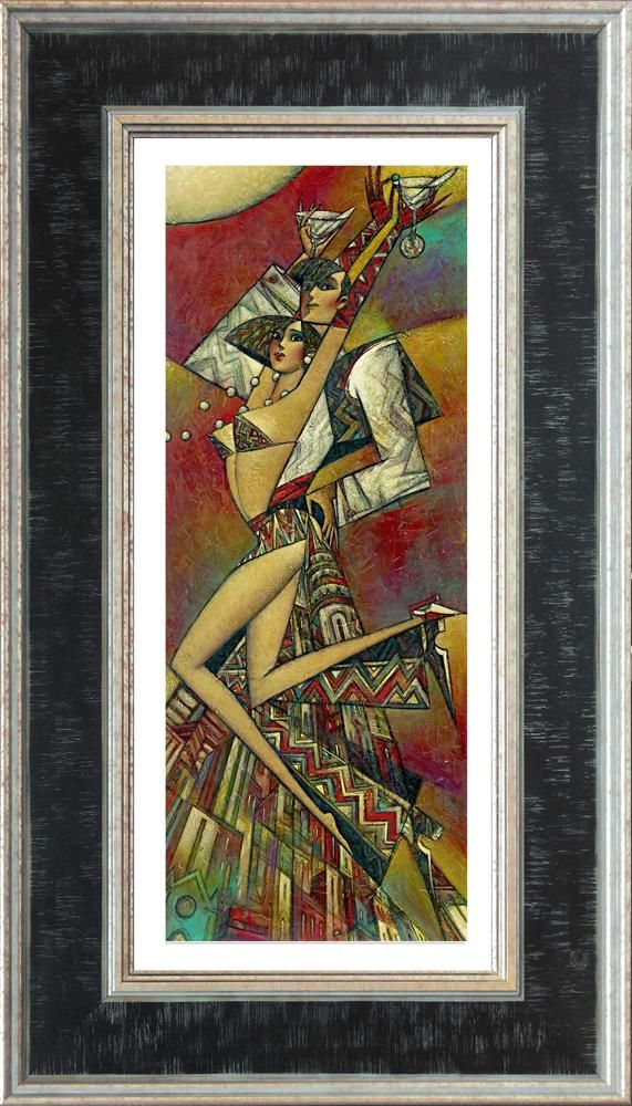Uptown Martini (Small) - Framed by Andrei Protsouk