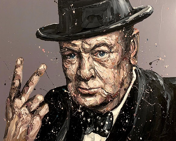 V Is For Victory (Sir Winston Churchill)