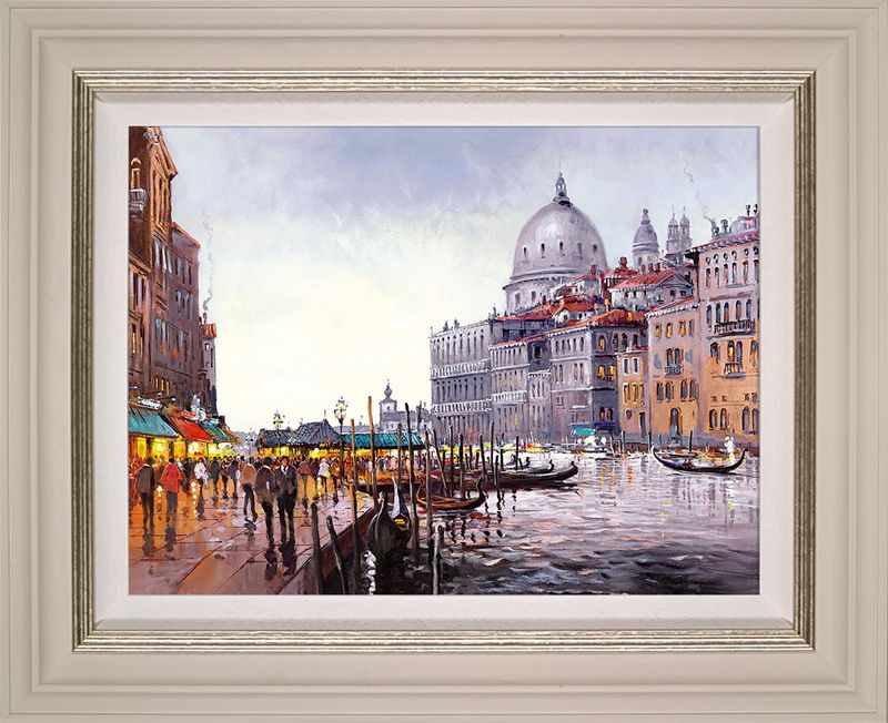 Venetian Lovesong - Framed by Henderson Cisz
