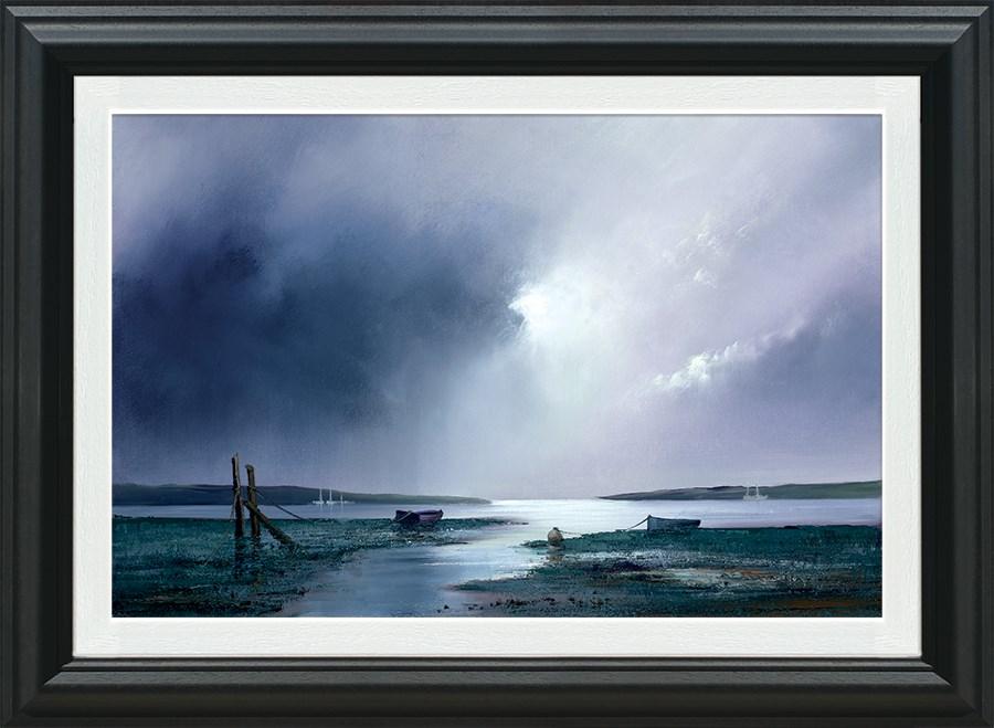 Violet Dawn - Framed by Barry Hilton