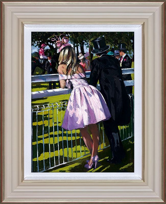 Visions In Pink - Framed by Sherree Valentine Daines