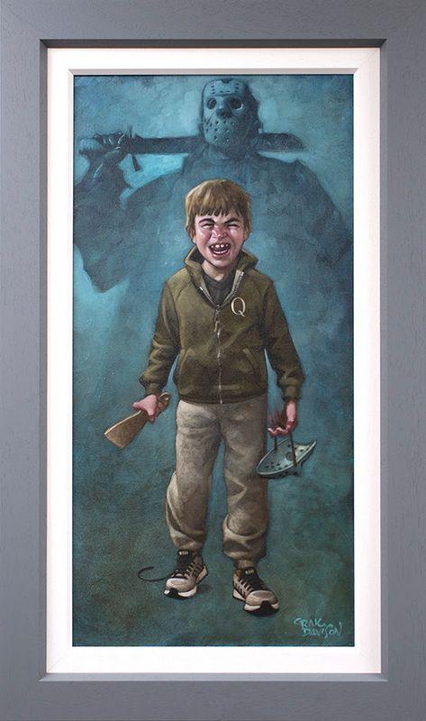 Voorhee's A Jolly Good Fellow - Canvas - Grey - Framed by Craig Davison