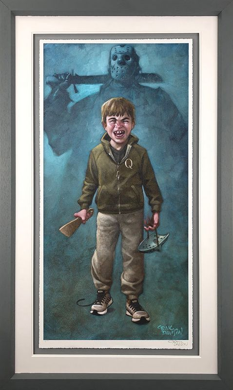 Voorhee's A Jolly Good Fellow - Grey - Framed by Craig Davison