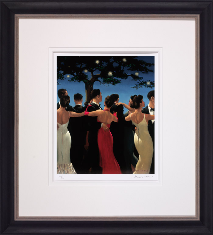 Waltzers - Framed by Jack Vettriano