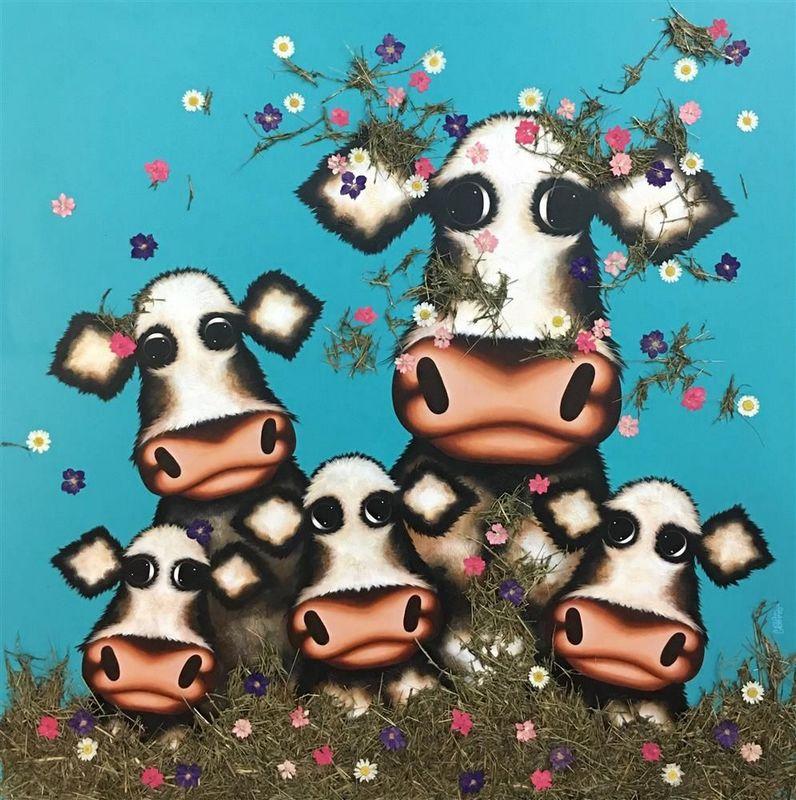 Was It You Little Moo - Deluxe by Caroline Shotton