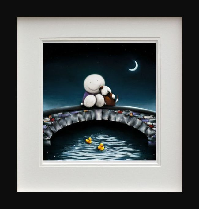 Watching The World Go By - Picture - Black - Framed by Doug Hyde