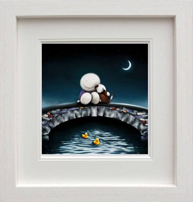 Watching The World Go By - Picture - White - Framed by Doug Hyde