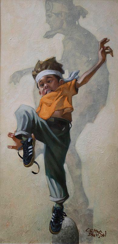 Wax On - Wax Off by Craig Davison