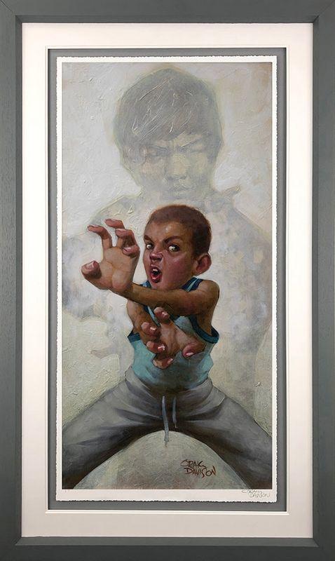 Way Of The Darren - Artist Proof Grey - Framed by Craig Davison