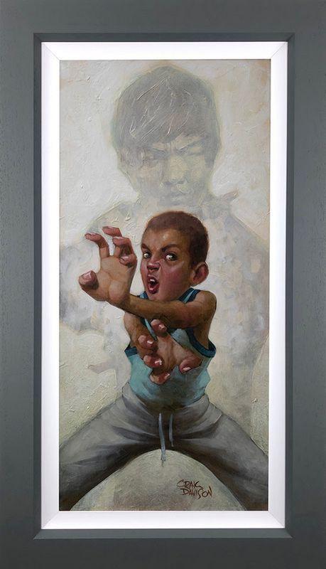 Way Of The Darren - Original  - Framed by Craig Davison