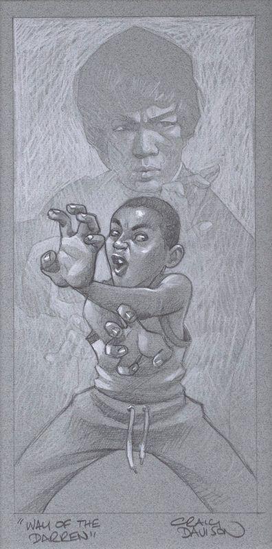 Way Of The Darren - Sketch by Craig Davison
