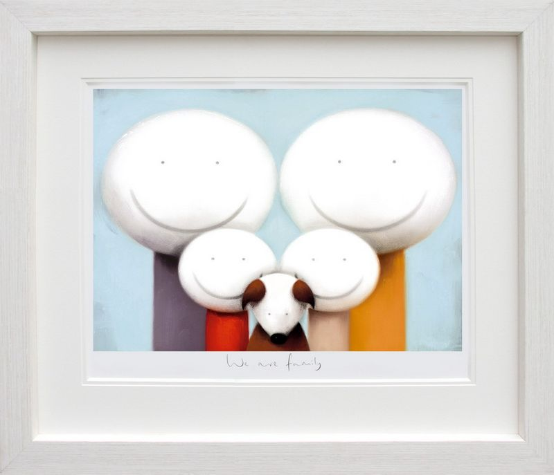 We Are Family - Framed by Doug Hyde