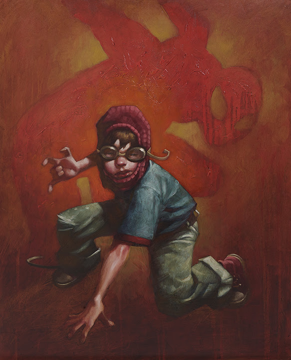 Web Designer (Spider - Man II) - Canvas - Framed by Craig Davison
