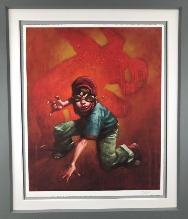 Web Designer (Spider - Man II) - Framed by Craig Davison