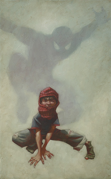 Web Head (Spider - Man I) - Canvas - Framed by Craig Davison