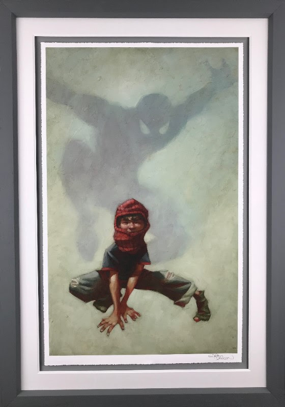 Web Head (Spider - Man I) - Framed by Craig Davison