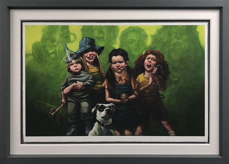 We're Off To See The Wizard (Wizard of Oz) - Paper - Framed by Craig Davison
