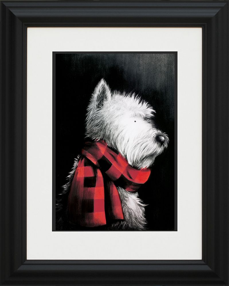 West End Girl - Framed by Doug Hyde