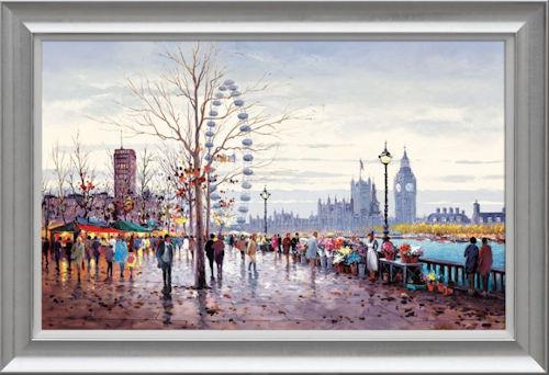 Westminster Morning - Framed
