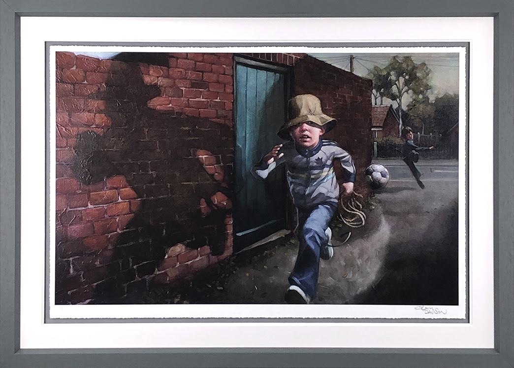Whip It, Whip It Good - Framed by Craig Davison