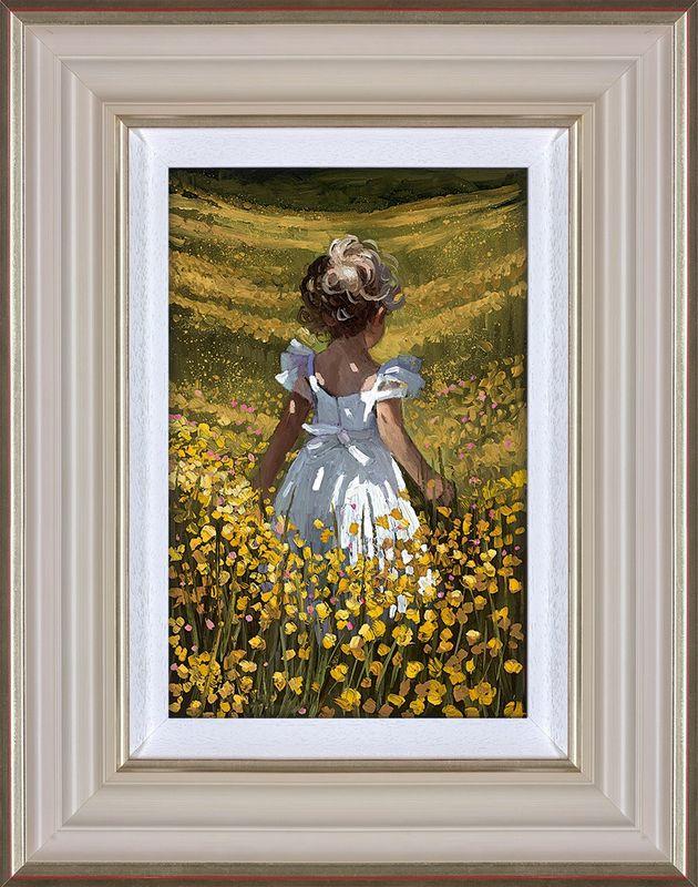 Wildflower Meadow - Framed by Sherree Valentine Daines