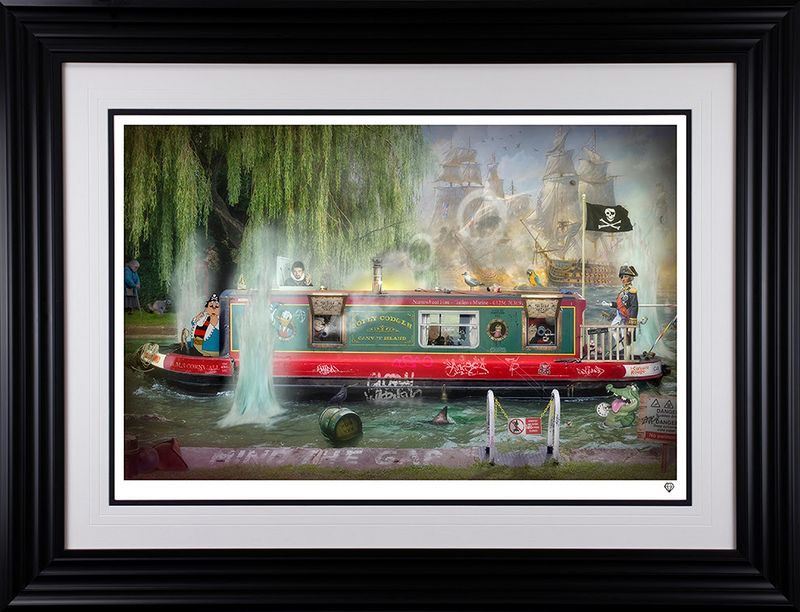 Wind In The Willows - Framed by JJ Adams