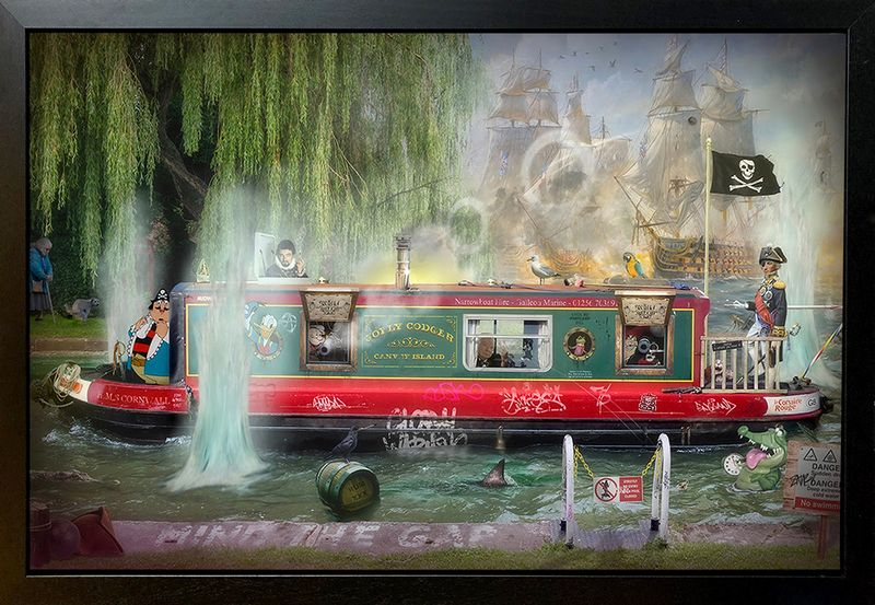 Wind In The Willows - Original - Framed by JJ Adams