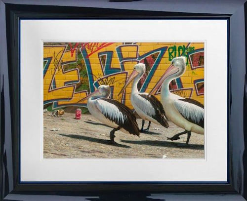 Wize Gize - Paper - Framed