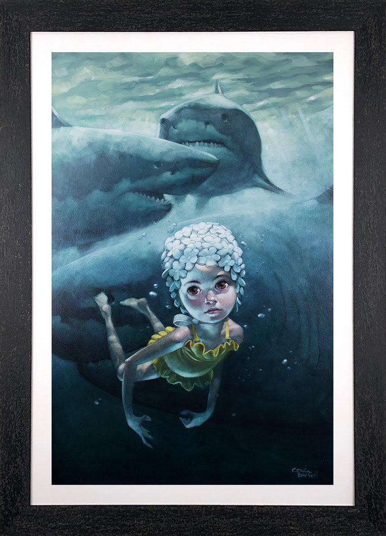 Worse Things Happen At Sea - Canvas - Framed by Craig Davison
