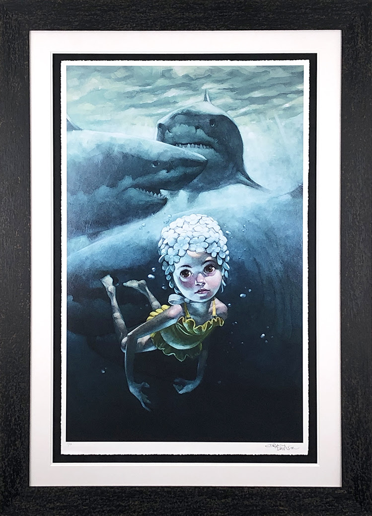 Worse Things Happen At Sea - Framed by Craig Davison