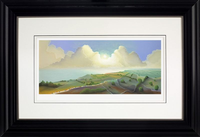 Yorkshire Coast - Framed by Mackenzie Thorpe