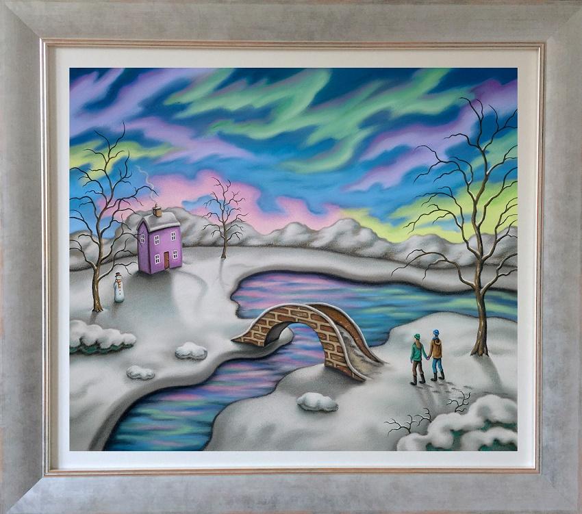 You Light Up My Life - Varnished Canvas - Framed